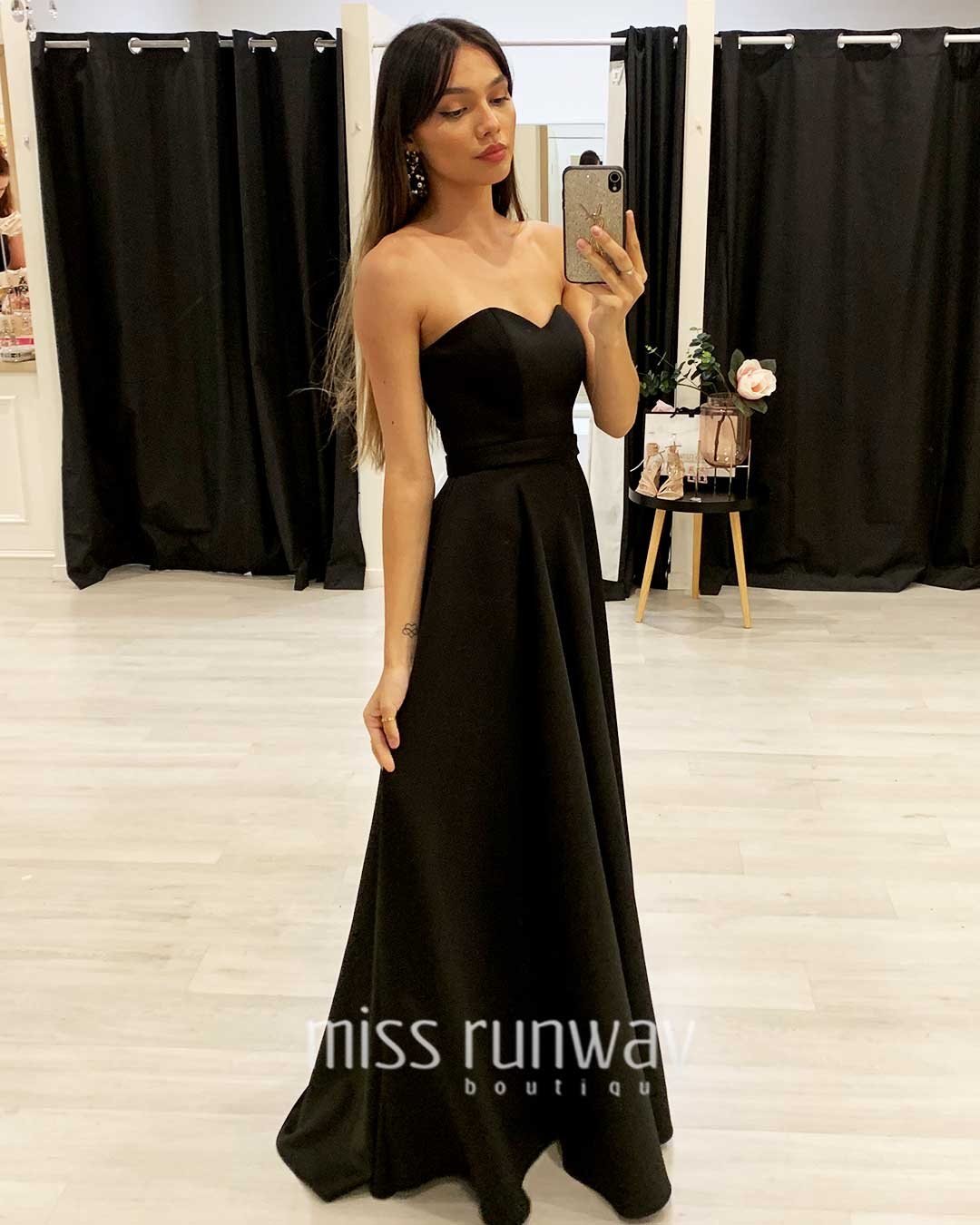 Paris Gown - Black