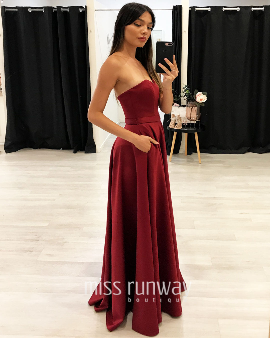Paris Gown - Wine