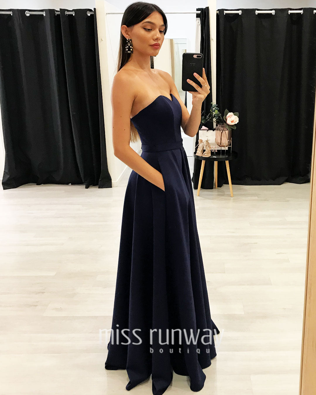 Paris Gown - Navy