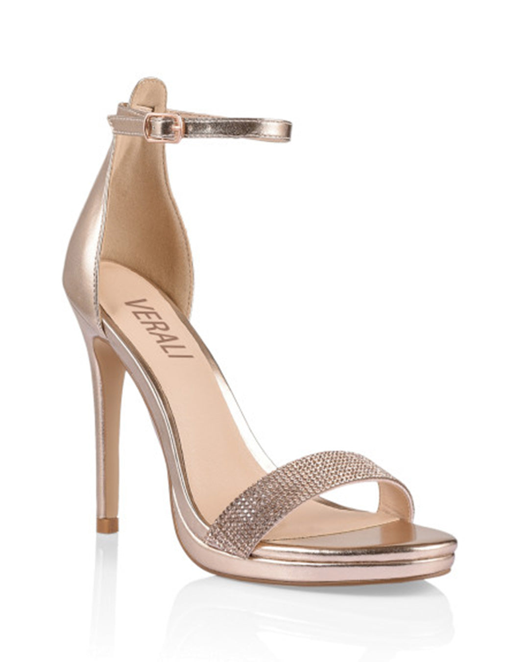 Parker Heel - Rose Gold