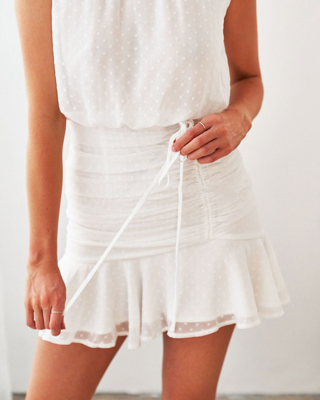 Pip Dress - White [PRE-ORDER]