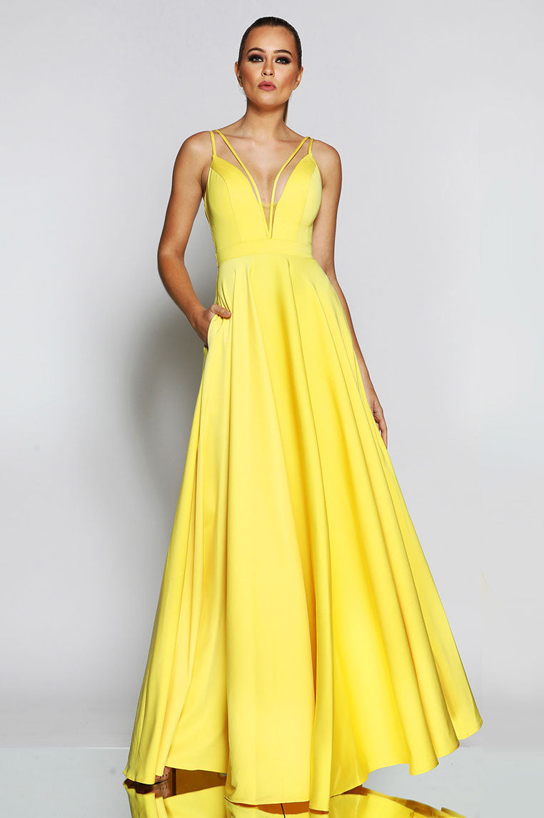 Renee Gown - Yellow