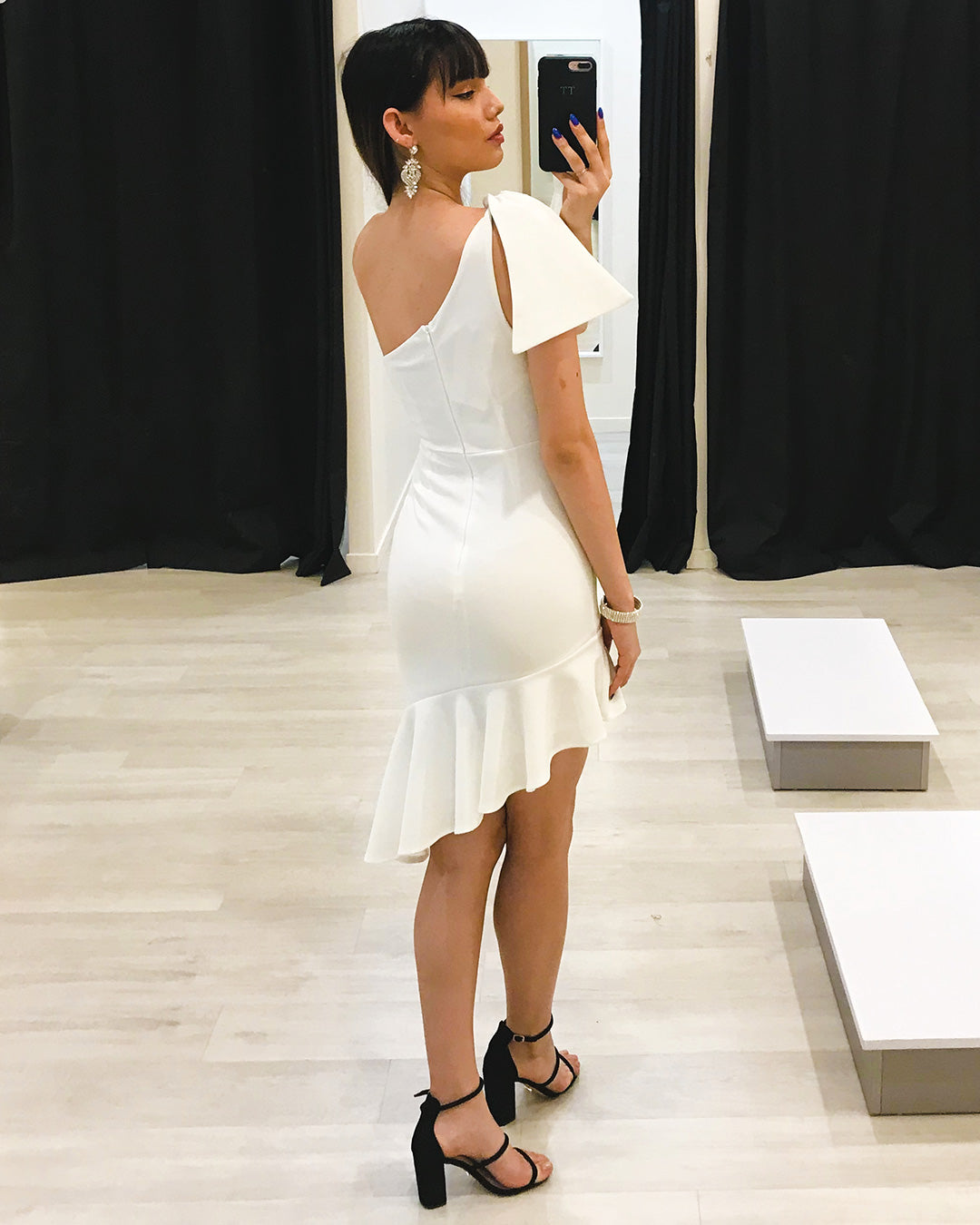 Sarena Dress - White