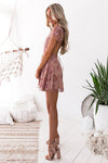 Saskia Embroidery Dress - Blush [PRE-ORDER]