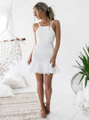 Shona Lace Dress - White - Miss Runway Boutique