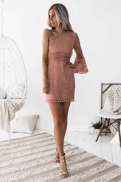 Toga Lace Dress - Pink [PRE-ORDER]