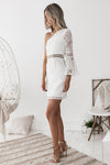 Elysian Lace Dress - White - Miss Runway Boutique