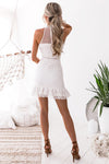 Vicky Lace Dress - White - Miss Runway Boutique