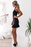 Vicky Lace Dress - Black [PRE-ORDER]