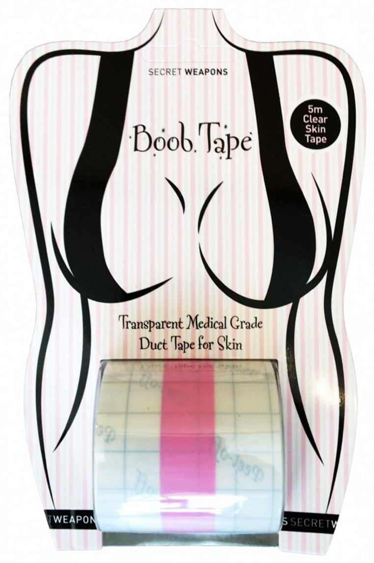 Boob Tape - Clear - Miss Runway Boutique