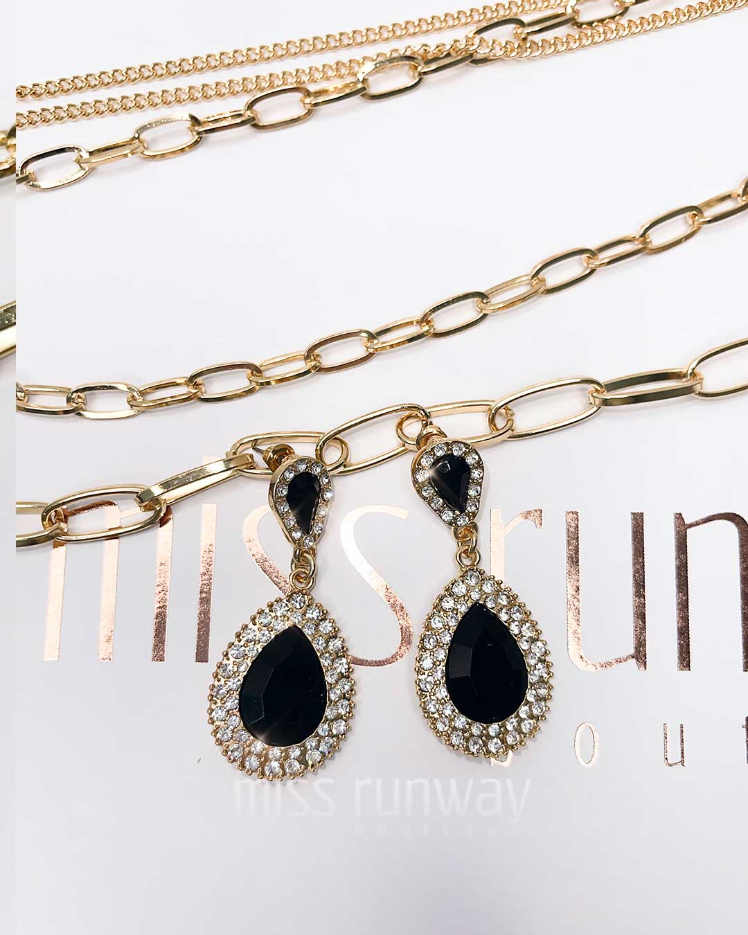 teardrop-jewel-earrings-black