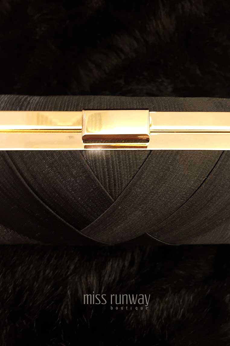 The Designer Life Clutch - Black
