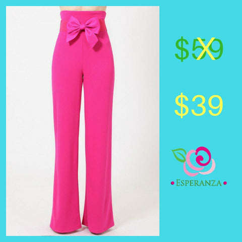 Ribbon Bow Belt Pants $39 (reg. $59) Small, Medium