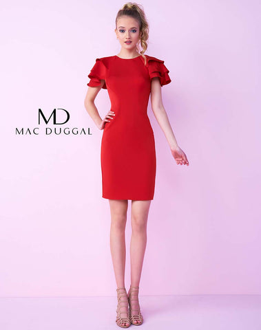 Mac Duggal Sz 4 $99 (reg. $338) Red