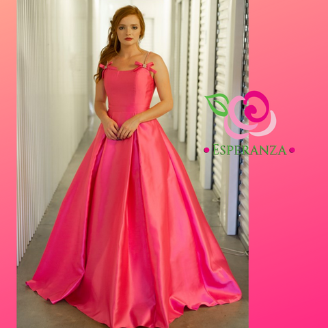 Jovani 00199 Pink Sizes 0 & 2 - SALE $200 (reg. $460)