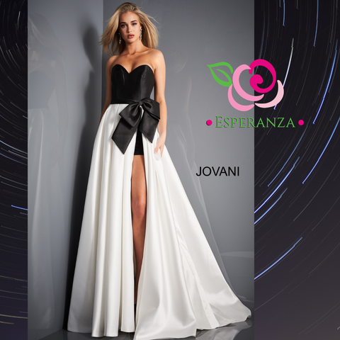 Jovani 03139 Size 4 - SALE $300 (reg. $500) - Shorts Underneath