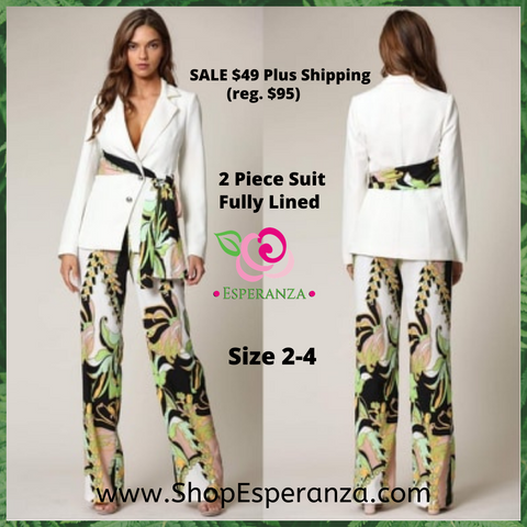 Boutique Quality 2-Piece Pant Suit Szs 2-4 - SALE $49 (reg. $95) - $7 Shipping