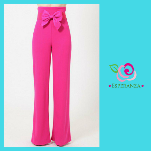 Boutique Quality Pants Size 2 - SALE $39 (reg. $59) - Formed Bow on Belt