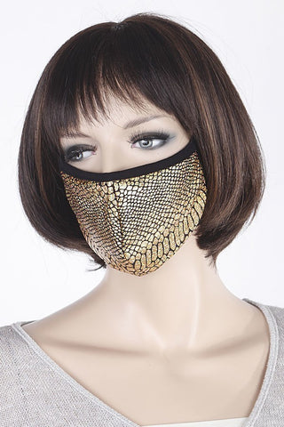 Fashion Mask Blink Gold