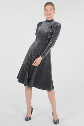 Amy Neck Tie Dress