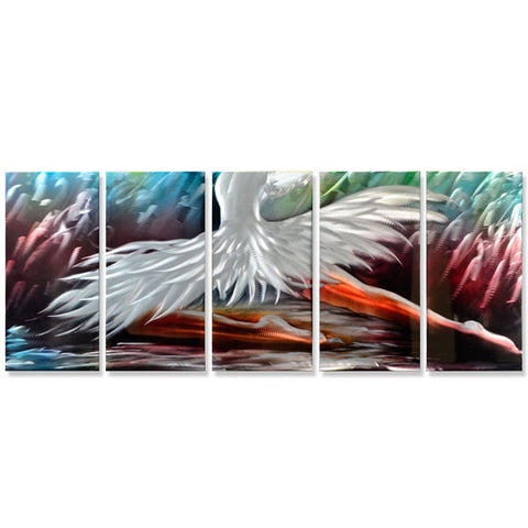 'The Swan Princess' Metal Wall Art set
