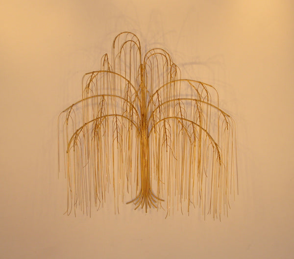 'Weeping Willow Tree' Metal Sculpture Wall art
