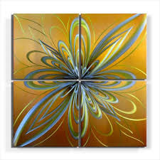 'Infusion' Large Metal Wall Art | Abstract Wall Art