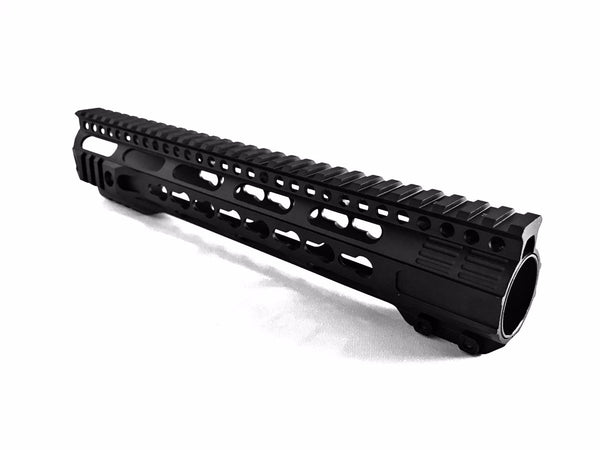 Breek AR-15 Forward Cut Keymod Free Float Handguards - Keymod Mounting System