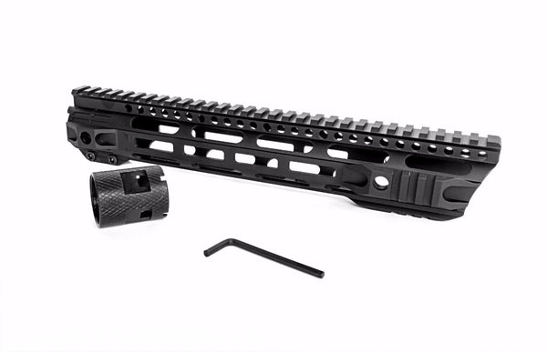 NEW! Breek AR-10 / LR308 Forward Cut Handguards - M-Lok Mounting System