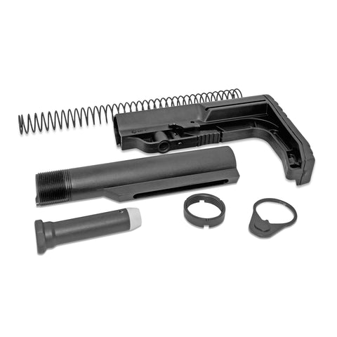 Minimalist First Tactical Stock + AR-15 Carbine Buffer Tube Kit
