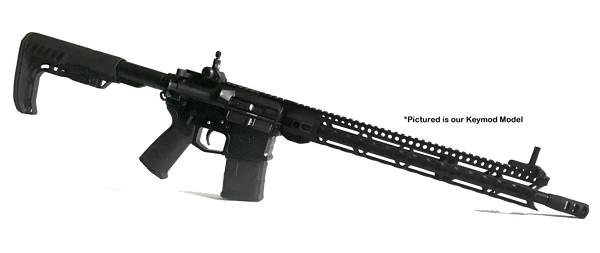 BLEM! AR-10/LR-308 15 Inch MACH 2.0 M-lok Low Profile Free Float Slim Feather Light 11.3 Oz Handguard by Breek Arms
