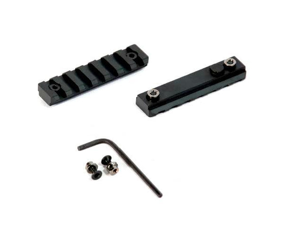 2 Pack! 3 Inch Keymod Rail Section