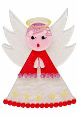 Erstwilder Nanna's Little Angel Brooch