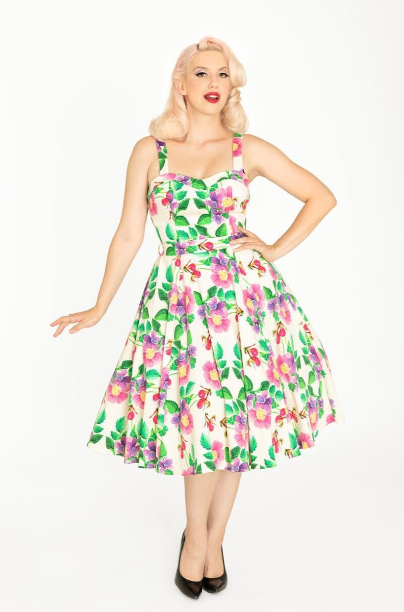 Wild Flower Medley Lori Dress by Miss Lulo