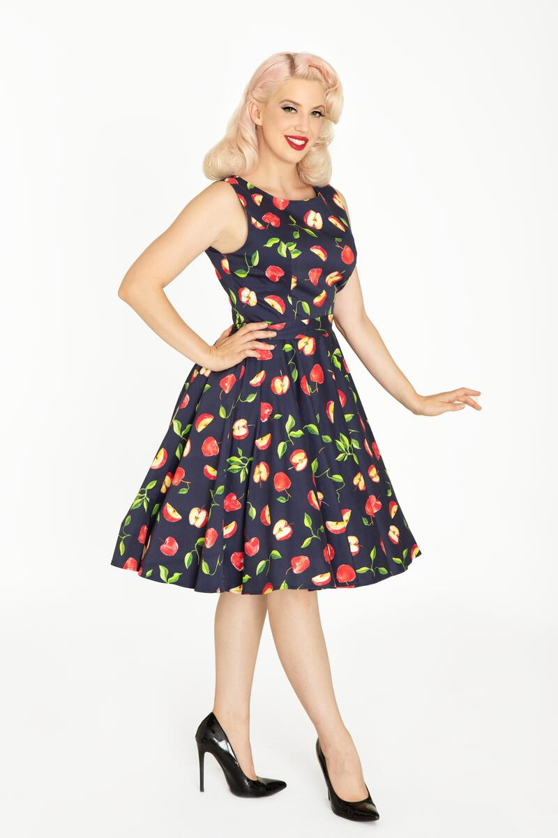 Apples Ruby Dress by Miss Lulo