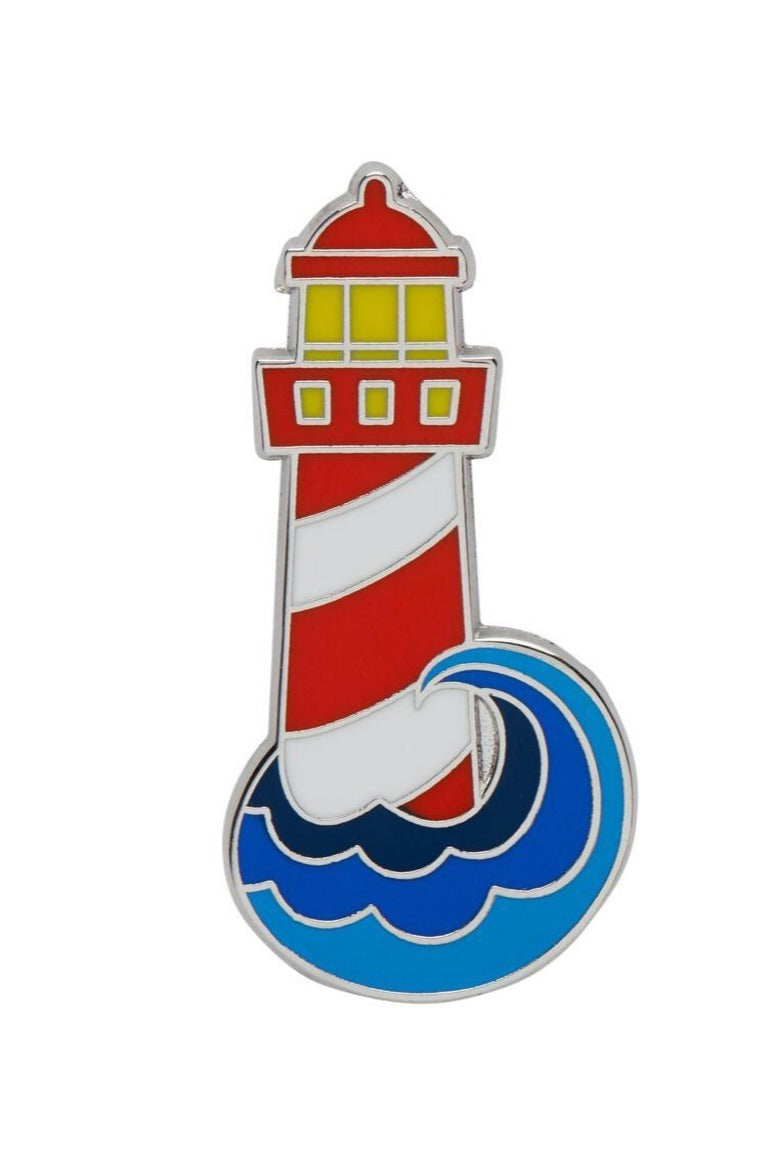 Round the Twist Enamel Pin by Erstwilder