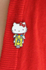Hello Kitty Scooter Enamel Pin by Erstwilder