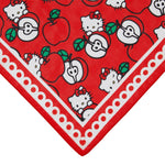 Hello Kitty Apple Large Neck Scarf by Erstwilder