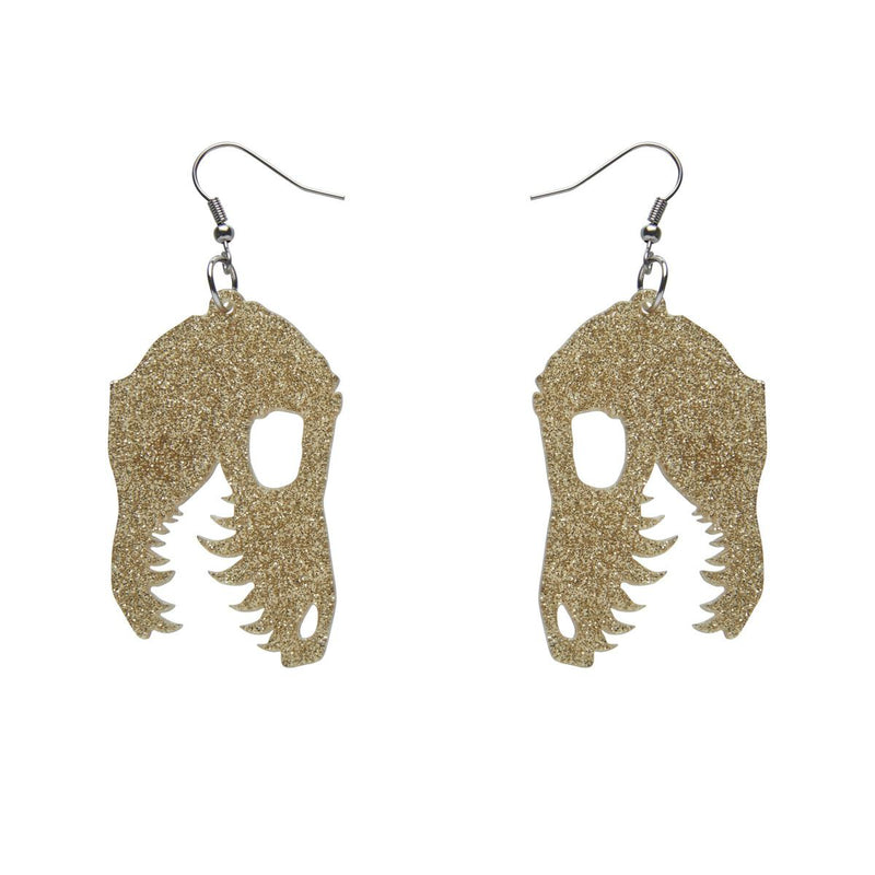 Multiple Colors! Fossil Dinosaur Essential Earrings by Erstwilder
