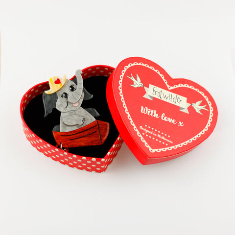 Love Boat Brooch by Erstwilder