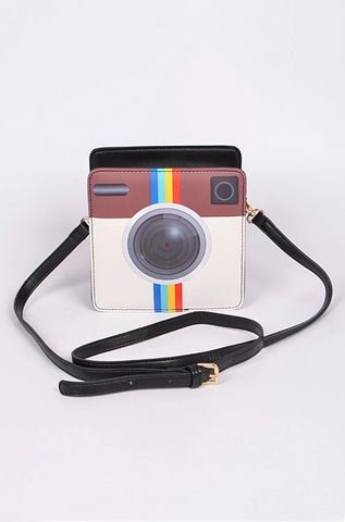 Instant Camera Crossbody  Bag