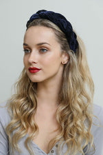 Braided Velvet Headband in Multiple Colors
