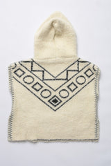 Kids soft Hooded Boho Poncho