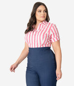 Candy Stripe Mazzie Top