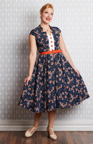 Nala-Lee Floral Swing Dress by Miss Candyfloss