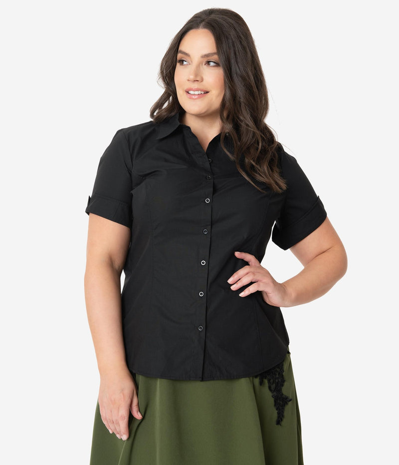 Black Mazzie Top
