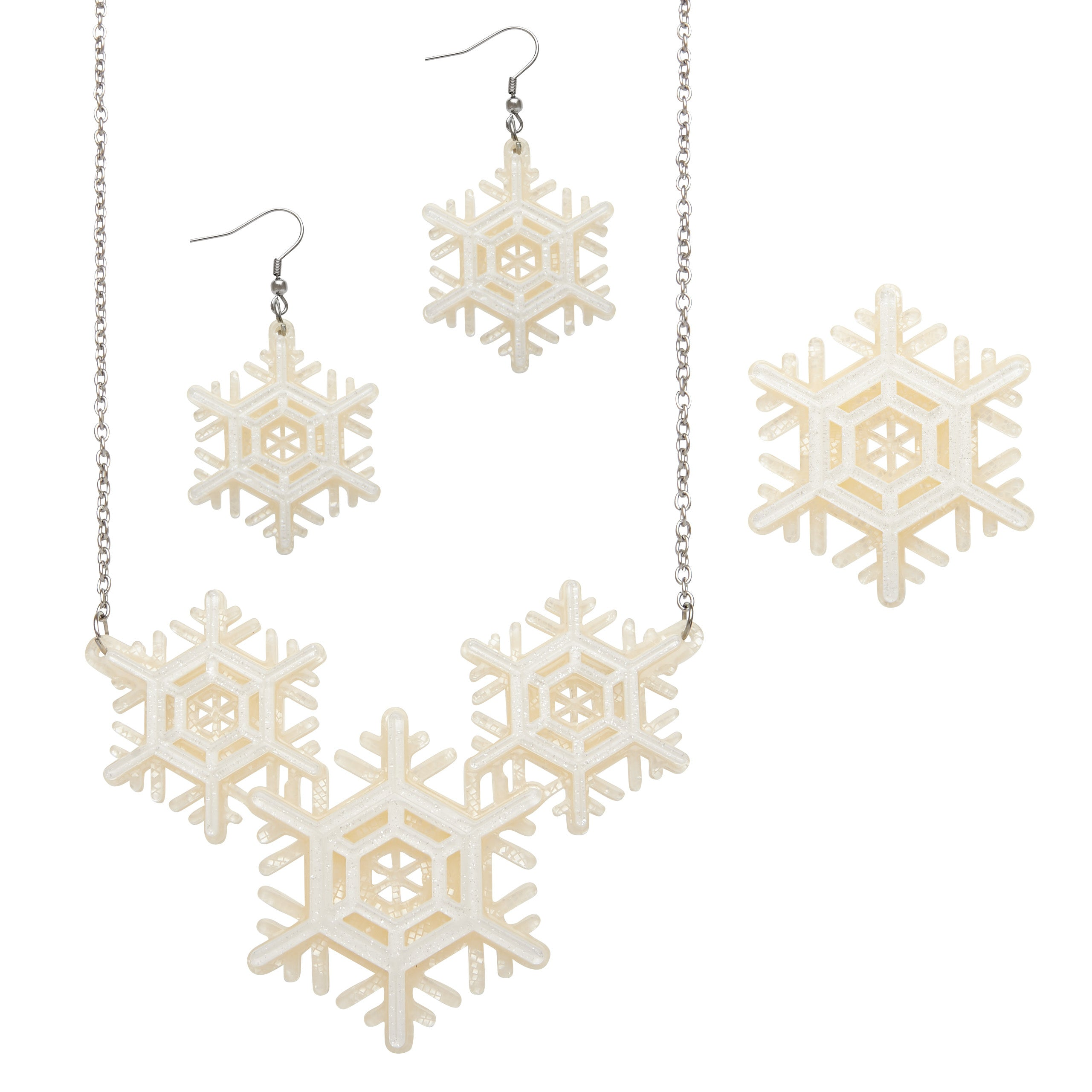 Winter Wonderland Earrings by Erstwilder