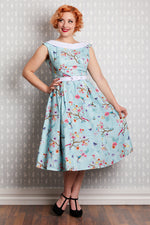 Artista Day Dress in Blue by Miss Candyfloss