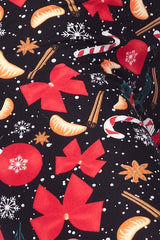 Ribbons and Candy Cane Leggings
