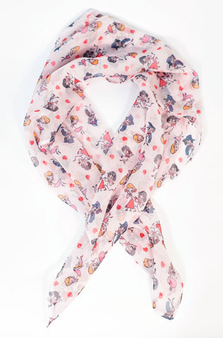 I Love Lucy x Unique Vintage Ricky & Lucy Hair Scarf